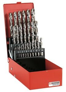 Facom 222a Tj Set Of Ground Twist Hss Drill Bits 222a Tj19