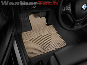 Weathertech All weather Floor Mats Bmw X6 2008 2014 Tan