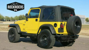 1997 2006 Jeep Wrangler Soft Top Replacement Canvas Tinted Rear Windows Sale