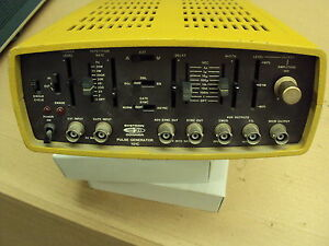 Pulse Generator Systron Donner 101c Single Sq Dbl Pulse Capable Works