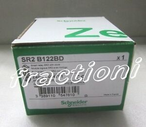 Schneider Zelio Plc Sr2b122bd New In Box 1 year Warranty