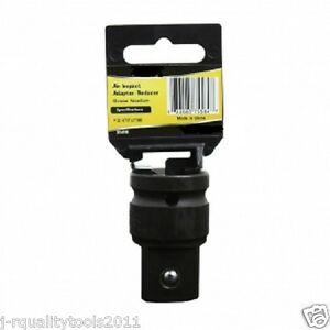 3 4 To 1 Inch Dr Drive Black Impact Socket Adapter Reducer Tool Adaptor
