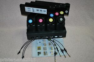Uv Bulk Ink System 4x4 For Roland Mimaki Mutoh And Epson Printers Us Seller