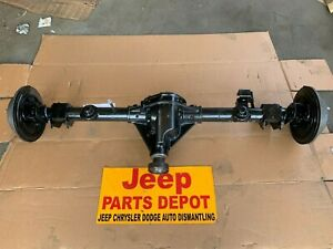 2007 2016 Jeep Wrangler Dana 44 3 73 Gears Rear Axle Differential Take Off Oem