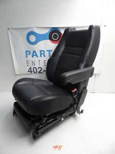 08 09 Range Rover Sport L320 Seat Black Leather Power Heat Memory Front Right