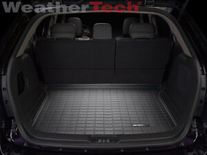 Weathertech Cargo Liner Trunk Mat For Ford Edge Lincoln Mkx Black