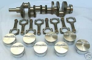 Scat 408ci Windsor Ford Stroker Rotating Kit Flat Top
