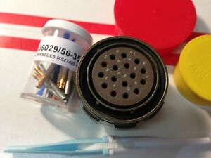 D38999 26wg16sn Mil spec Connector With Contacts By Deutsch