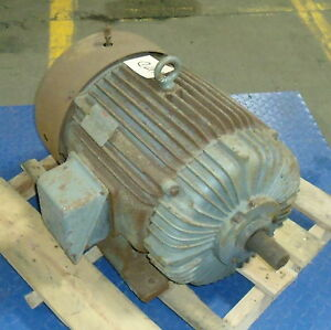 Lincoln 30hp 3 phase High Efficiency Ac Motor C 3g5054 pzb