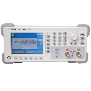 Owon Waveform Function Generator Ag1022 25mhz 2chs Sine Square Pulse Ramp Arb Us
