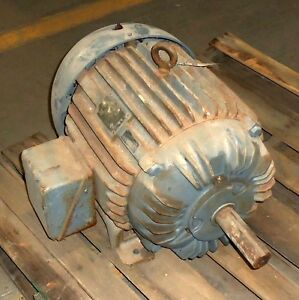 Allis chalmers 326u Frame 3 phase 30hp Induction Motor 51 678 959 1529 pzb