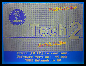 Saab 44 000 Tech2 Vetronix Otc Hp Gm Tech 2 Scanner 32mb 1988 1998