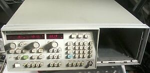 Hp agilent 8350b Sweep Oscillator Mainframe Tested Good