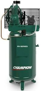 Industrial 5hp Air Compressor 2 Stage 19 1 Cfm Displ Single Phase Vrv5 6 Usa