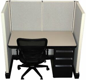 Herman Miller Ao2 2 x4 Call Center Cubicles