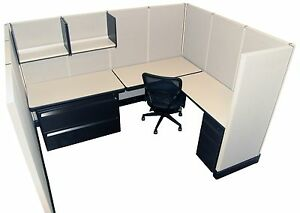 Herman Miller Ao2 6 x8 Office Cubicles Workstations Refurbished Furniture