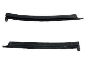 1983 1993 Mustang Convertible Vertical Quarter Window Rubber Weatherstrips Lh Rh