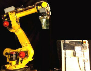 Fanuc Robot R 2000ib 165f Rj3ic Clean Tested Material Handling