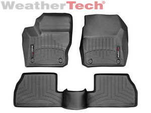 Weathertech Floor Mats Floorliner Ford Focus 2012 2016 Black