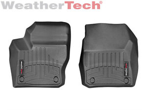 Weathertech Floor Mats Floorliner Ford Focus 2012 2016 1st Row Black