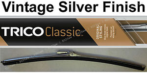 Classic Wiper Blade 15 Antique Vintage Styling Silver Finish Trico 33 150