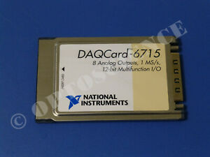 National Instruments Daqcard 6715 Ni Daq Card Pcmcia Analog Output