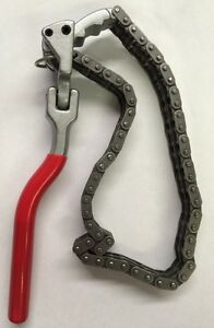 Heavy Duty Chain Wrench For Oil Filter