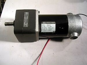 Croschopp Pm8304 24vdc Motor Gearhead New