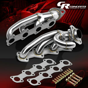 For 04 08 Ford F150 Pickup 4 6l V8 Stainless Exhaust Manifold Header gasket bolt