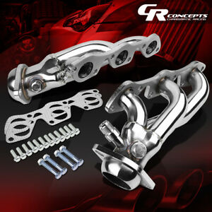 For 97 03 Ford F150 lobo Pickup 4 2 V6 Stainless Exhaust Manifold Header gasket