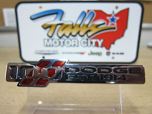 Dodge Challenger Charger 100th Anniversary Decal Emblem Nameplate Mopar Oem