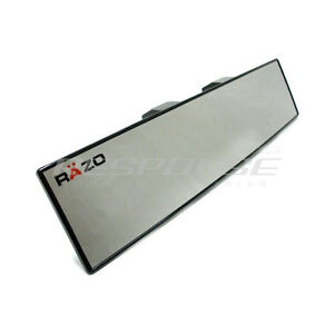 Razo Rg21 Clip On Wide Rear View Mirror 270mm 11 Convex Universal Fitment Jdm