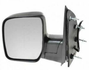 Drivers Side Mirror Lh Ford Econoline Van 2009 Wo Lamp Sail Type Power Manual