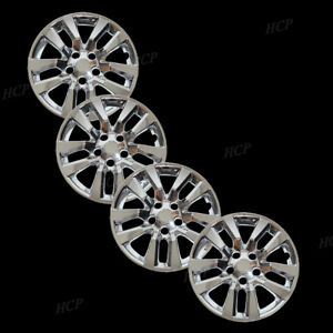 New 16 Chrome Hub Cap Hubcap Covers Fits 2002 2014 Nissan Altima Quest Set Of 4