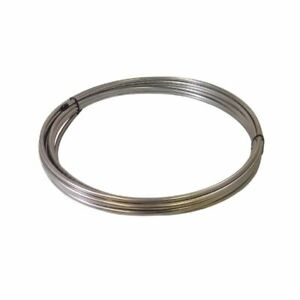 3 8 Od X 50 Length X 020 Wall Type 304 Stainless Steel Tubing Coil