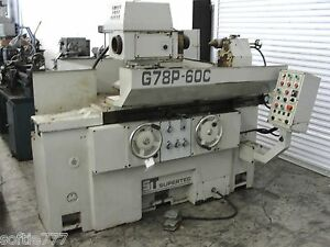 1998 Supertec G78p 60c 31 X 20 Automatic Cylindrical Grinder S n 39807 oc313