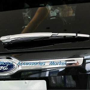 New Chrome Rear Wiper Cover Trim For Ford Edge 2011 2012 2013 2014
