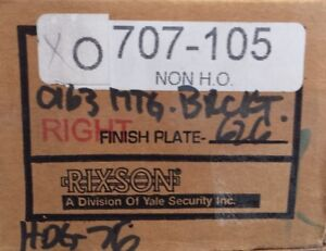 Rixson 700 Series 707 105 Overhead Concealed Door Closer Right Hand Non H o