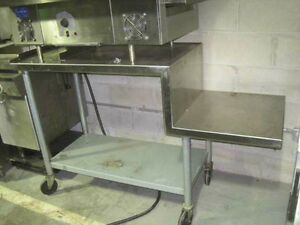 60 Stainless Steel Conveyor Oven Stand table