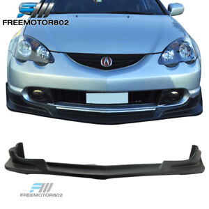 For 02 04 Acura Rsx Front Bumper Lip Spoiler Bodykit C west Style Urethane