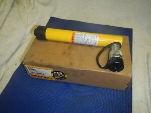 Enerpac Rc 57 Duo Hydraulic Cylinder 5 Ton 7 Stroke New