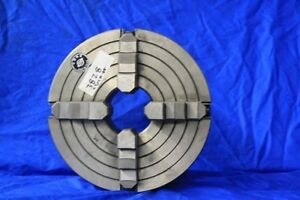 10 Poland Bison 4 jaw Chuck