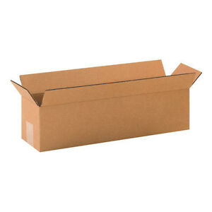 20 34x10x6 Cardboard Shipping Boxes Long Corrugated Cartons
