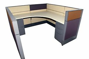 Haworth Premise 6 x6 Office Cubicles Workstation Office Furniture