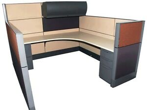 Haworth Premise 7 x7 64 48 Office Cubicles Workstation Office Furniture