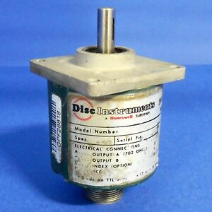 Disc Instruments 15vdc 3 8 Shaft Dia Encoder 702fr 200 oclp