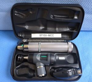 Welch Allyn Diagnostic Set 97150 mcc Macroview Otoscope standard Ophthalmoscope