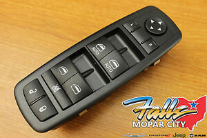 2010 2011 Dodge Caravan Chrysler Town Country Master Window Switch Mopar Oem