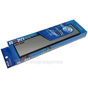 Razo Rg20 Clip On Wide Rear View Mirror 270mm 11 Flat Universal Fitment Jdm