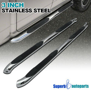 For 2008 2013 Jeep Liberty Kk 3 S S Side Step Nerf Bar Running Board